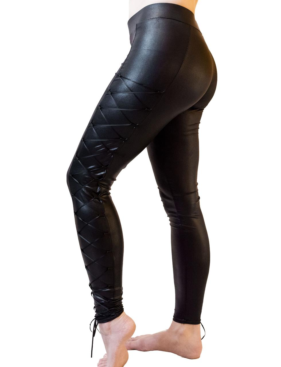 Corded Leg Leggings